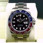 Rolex GMT Master II Blue / Red 18K White Gold