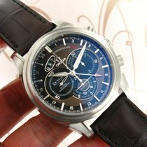 Omega De Ville ref. 422.13.44.52.13.001 Chronoscope GMT New...