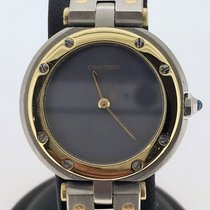 Cartier Santos Ronde Gold/Steel {Special Dial} [ No B&P ]...