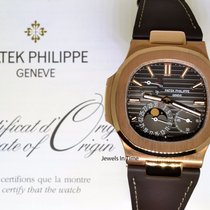 Patek Philippe Nautilus 18k Rose Gold Mens Watch Box/Papers...