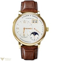 A. Lange & Söhne Grande Lange1 Moonphase 18K Yellow Gold...