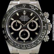 Rolex 116500ln Daytona Black Ceramic Bezel Automatic Steel New...