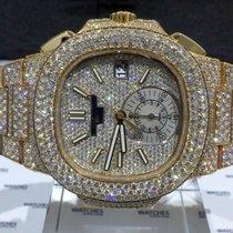 Patek Philippe Nautilus Rose Gold Diamonds - 5980/1R-001