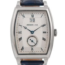 Breguet 18k Heritage Big Date with Silver Dial, 5480