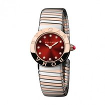 Bulgari 102456 Roma Tubogas in Steel and Rose Gold - On...