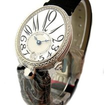 Breguet 8918BB/58/864D00D Queen of Naples in White Gold - on...