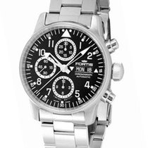 Fortis Mens Flieger Automatic Chronograph - Day/Date -...
