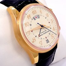 Girard Perregaux Very Rare Traveller II Gmt Alarm 38mm 18k...