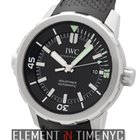 IWC Aquatimer Collection Stainless Steel Black Dial 42mm Ref....