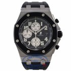 Audemars Piguet Offshore Rubber Clad Stainless Last Year Of...