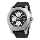 Breitling Colt Chronograph Automatic Black Dial Military Strap...