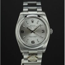 """Rolex Air King 114200 silver dial """"Domino's Pizza"""""""