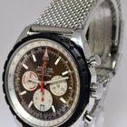 Breitling Chrono-Matic 49 Steel Chronograph Watch On Bracelet...