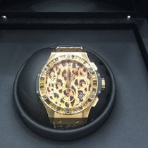 Hublot Classic Fusion Big Bang 41mm Leopard Gold