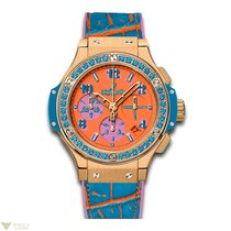 Hublot Big Bang 41 MM Pop Art Blue 18K Rose Gold Unisex Watch