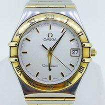 Omega Constellation 18K Yellow Gold/Steel Quartz 12123000