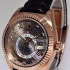 Rolex Sky-Dweller 18k Rose Gold Mens GMT Watch Box/Papers NEW...