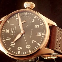 IWC Big Pilot Spitfire Grey Rose Gold