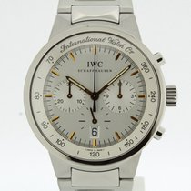 IWC GST Chronograph Watch Ref. 3727 from 1999 TRITIUM Dial (2293)
