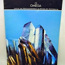 """Omega DIN-A4 Heft """"TECHNIK DES WELTRAUMZEITALTERS"""""""