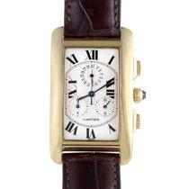 Cartier Tank Americaine Men's Quartz Chronograph Watch...