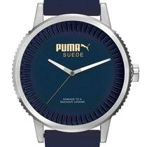 Puma PU104101003 Suede Herrenuhr 46mm 10ATM