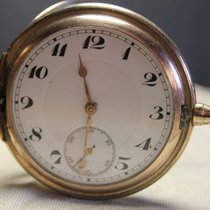 Junghans gold plated pocket watch, 1920s