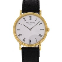 Patek Philippe Men's  Calatrava 18K Yellow Gold