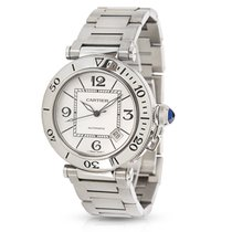 Cartier Pasha Seatimer W31080M7 Mens Watch in Stainless Steel
