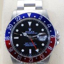 "Rolex GMT-Master ""Pepsi"" Bezel Stainless Steel-16750"