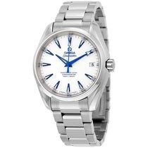 Omega Seamaster Aqua Terra  Automatic White Dial Mens Watch...