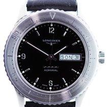 Longines Admiral Automatik Datum in Edelstahl ca.1994