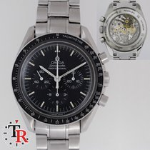 Omega Speedmaster Pro Shappire case back, box+papers