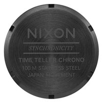 Nixon The Time Teller Chrono All Black/Gold A972-1031