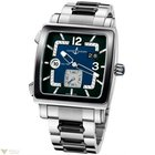 Ulysse Nardin Quadrato Dual Black Dial Stainless steel and...