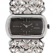 Omega De Ville Schmuckuhr 925 Silber Handaufzug Armband 925...