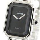 Chanel Premiere Size L Steel Quartz Ladies Watch H0452 (bf101527)