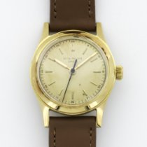 Patek Philippe Yellow Gold Center-Seconds Strap Watch Ref. 2483