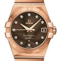 Omega Constellation Co-Axial Automatic 38mm 123.50.38.21.63.001
