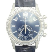 Patek Philippe New  Complications 18k White Gold Dark Blue...