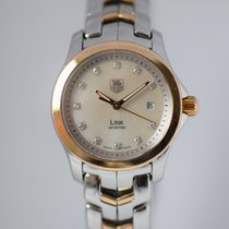 TAG Heuer Ladies Link MOP and diamond dial WJF1353