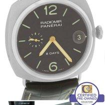 Panerai PAM 346 Radiomir 8 Days Power Titanium Tobacco 45mm Watch