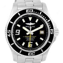 Breitling Aeromarine Superocean 44 Steel Mens Watch A17391 Box...