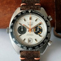 Heuer Autavia Orange Boy Ref. 1163T unpoliert