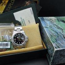 Rolex 1997 ROLEX EXPLORER 2 16570 BLACK (T25) DIAL WITH FULL SET