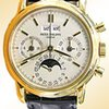 Patek Philippe Gent&amp;#39;s 18K Yellow Gold  Ref # 3970 Perpetua...