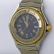 Ebel Discovery Herren Uhr Automatik Ref. 193913 Stahl/gold Divers