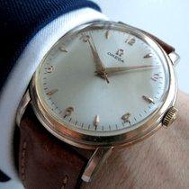 Omega Oversize Jumbo pink gold rose 38mm Vintage