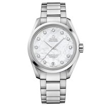 Omega Seamaster Steel White MOP Dial 231.10.39.21.55.002...