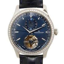 Jaeger-LeCoultre Master Tourbillon Blue Dial Men's Watch